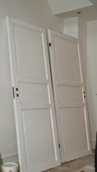maling af gamle fyldningsdøre